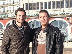 Alberto y Luis dejaron el sur de España por el sur de Inglaterra.
